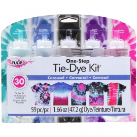 134302 Tulip One-Step Large Tie Dye Kit Carousel