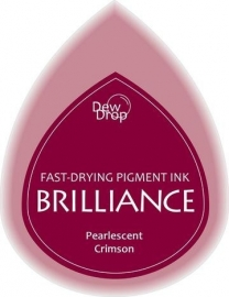 BDIP62 Dew Drops Pearl Crimson