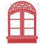 SBS2-016 Spellbinder D-Lite Window Two