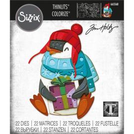 665568 Sizzix Thinlits Dies Eugene Colorize By Tim Holtz 22/Pkg