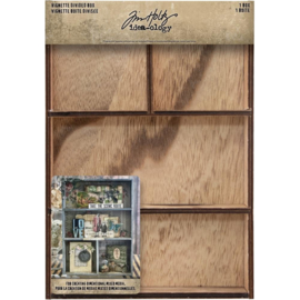 "TH93794 Idea-Ology Vignette Divided Box 7""X10"""
