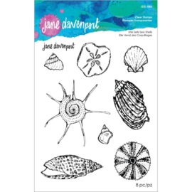 JDS046 Spellbinders Clear Stamp Set By Jane Davenport She Sells Seashells