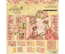 4501799 Graphic 45 Princess 8x8 Inch Paper Pad