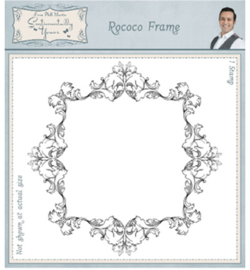 SYR022 Sentimentally Yours Stamp Rococo Frame