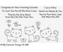 CS-388 My Favorite Things Purr-fect Clear Stamps