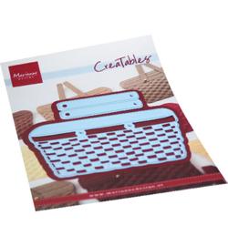 LR0702  Marianne Design Creatables Wicker Basket