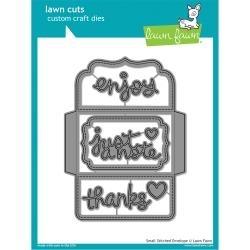 LF1284 Lawn Cuts Custom Craft Die Small Stitched Envelope