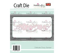 PD7548 Polkadoodles Delicate Daisy Border Die