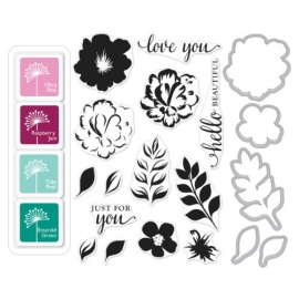 425698 Hero Arts Color Layering Bundle For You Flower