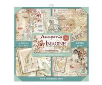 SBBXL04 Stamperia Imagine 12x12 Inch Maxi Paper Pack
