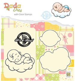 DDCS010 Cutting & embossing It's a boy: sweet dreams
