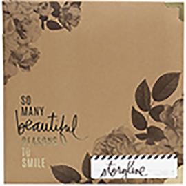 "380312 Heidi Swapp Storyline2 D-Ring Album Floral 8.5""X11"""
