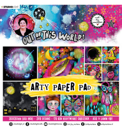 ABM-OOTW-PP16 - ABM Paper pad Out Of This World nr.16
