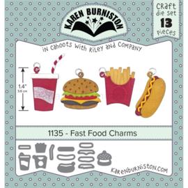 KBR1135 Karen Burniston Dies Fast Food Charms
