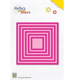 MFD056 Cutting & embossing Straight square