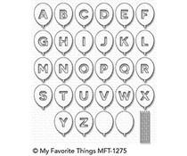 MFT-1275 My Favorite Things Die Balloon Alphabet