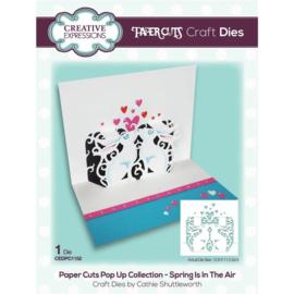 CEDPC1152 Creative Expressions Craft die paper cuts Lente is in de lucht