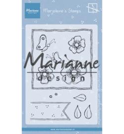 MZ1902  Marianne Design Stempel Marjoleine's anemones