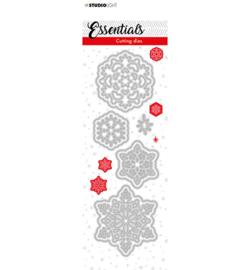 SL-ES-CD66 - SL Cutting Die Christmas Small snowflakes 2 Essentials nr.66