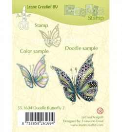 551604 Doodle Stamp Butterfly 2.