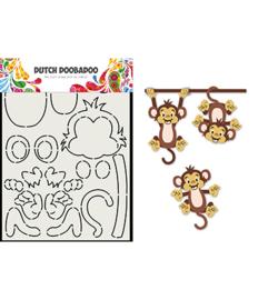 470.713.836 Dutch DooBaDoo Card Art Built up Aap