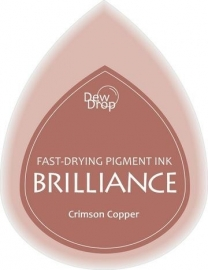 BDIP97 Dew Drops Crimson Copper