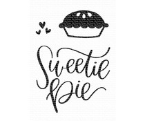 CS-443 My Favorite Things Clear Stamps Sweetie Pie