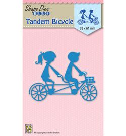 SDB029  Nellie's Choice Shape Dies Tandem Bicycle