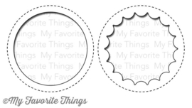 MFT-568 My Favorite Things Peek-a-Boo Circle Windows