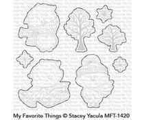 MFT-1420 My Favorite Things Warm & Feathered Hugs Die-Namics