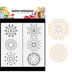 470.784.011 Dutch DooBaDoo Mask Art Slimline Mandalas