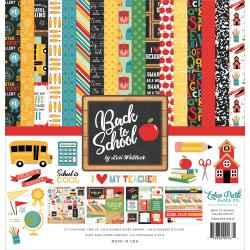 "463616 Echo Park Collection Kit Back To School 12""X12"""