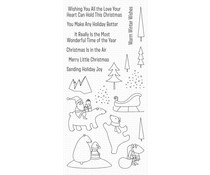 CS-429 My Favorite Things Merry Moments Clear Stamps