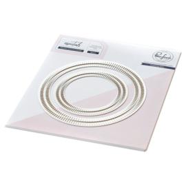 PF060ES  Pinkfresh Studio Essentials Die Set Blanket Stitched Circle