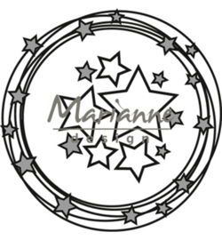 CR1447 Craftables Circle & stars
