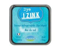19261 Aladine Inkpad Izink Dye Bleu Clair Mer Du Sud