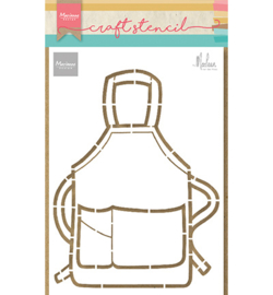 PS8085 Marianne Design Apron by Marleen