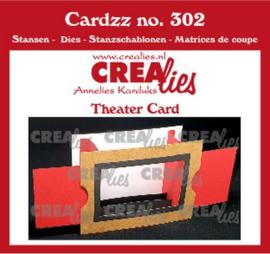 CLCZ302 Crealies Cardzz Theater kaar