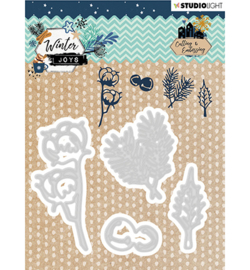 STENCILWJ226 StudioLight Embossing Die, Winter Joys nr.226