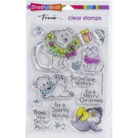SSC1408 Stampendous Perfectly Clear Stamps Polar Play