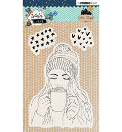 STAMPWJ420 StudioLight Stamp, Winter Joys nr.420