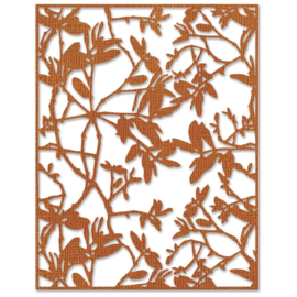665436 Sizzix Thinlits DiesLeafy Twigs  By Tim Holtz