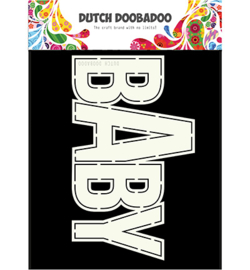 470.713.660 Dutch DooBaDoo Card Art Baby