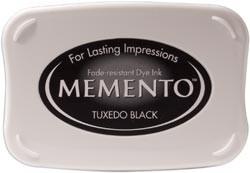 407315 Memento Full Size Dye Inkpad Tuxedo Black
