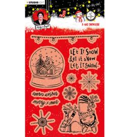 ABM-ES-STAMP83 ABM Clear Stamp Christmas Snow Globe Essentials nr.83