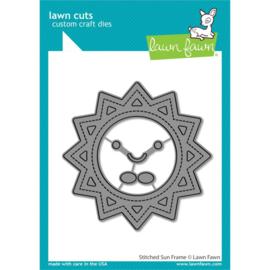 LF2530 Lawn Cuts Custom Craft Die Stitched Sun Frame