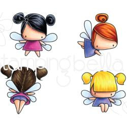 265862 Stamping Bella Cling Stamps Little Bits Fairy