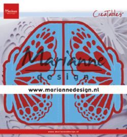 LR0638 Marianne Design Cutting & embossing Gate folding die Butterfly