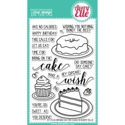 488514 Avery Elle Clear Stamp Set Bring On The Cake