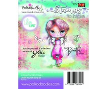PD7712 Polkadoodles Ula Be Yourself Clear Stamps